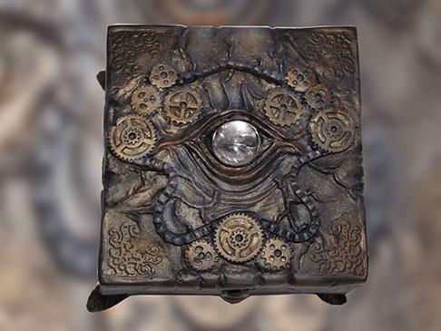 boîte à bijoux steampunk