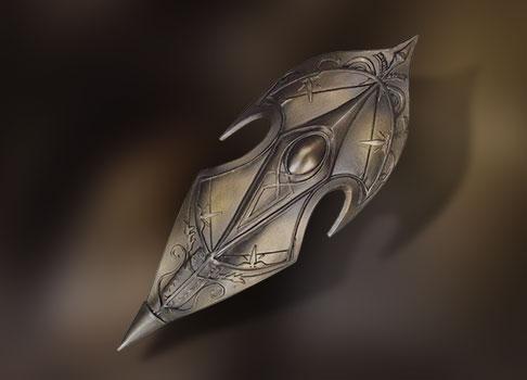 bouclier elfique BJD