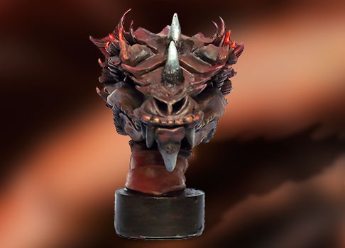 detail sculpture dragon