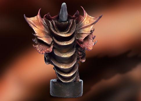 dragon sculpté