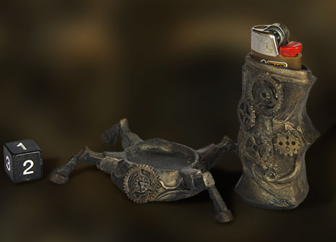 protège briquet steampunk