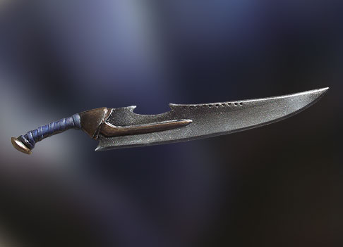 scramasaxe arme BJD