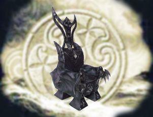 trone gothique BJD