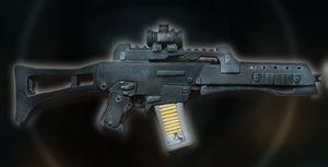 Fusil d'assaut pour poupée BJD