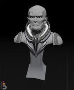 Sculpture VR: buste de Lotharius